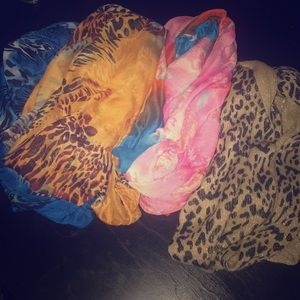 Accessories - multi colored scarves
